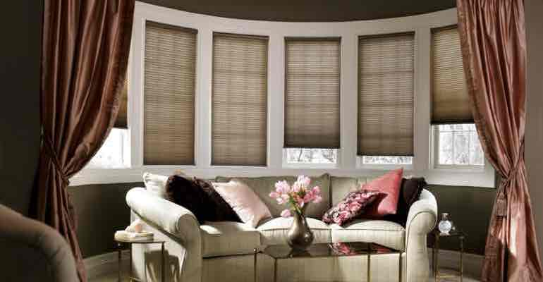 Boston Bay Windows Need Perfect Window Treatments Sunburst
