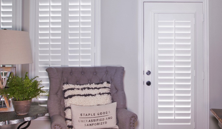 Plantation shutters in Boston