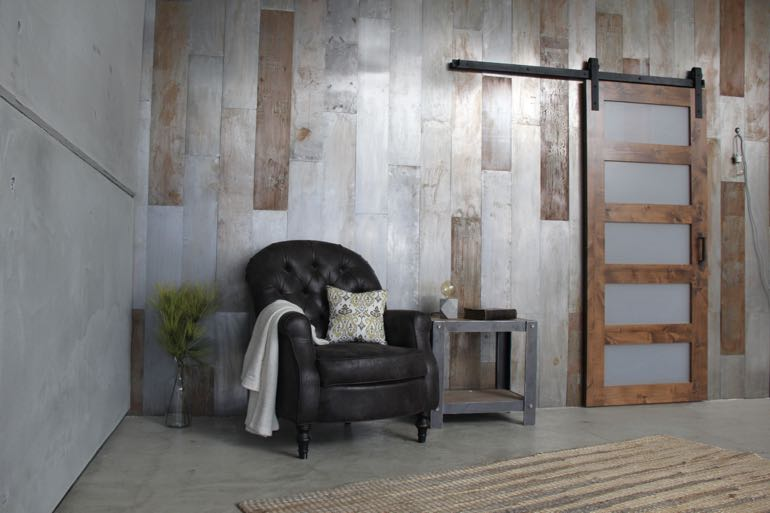 Boston commercial barn door
