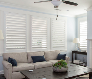 Shutters in Boston give you light control