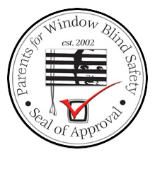 Seal of Approval by Parents for Window Blind Safety in Boston