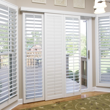Boston Sliding Patio Door Shutters