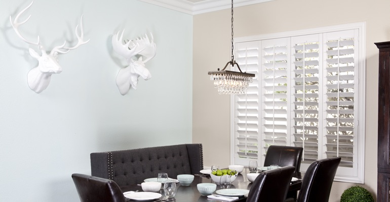 Boston dining room shutters