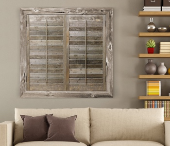 Reclaimed Wood Shutters Product In Boston