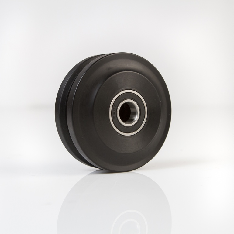 Black Nylon Wheel