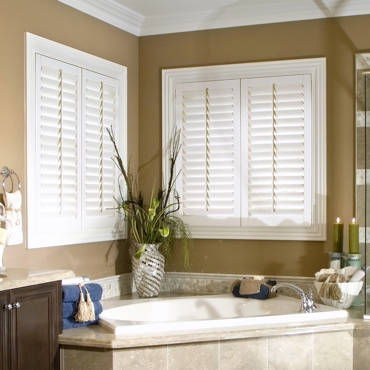 Studio Shutters in Bathroom