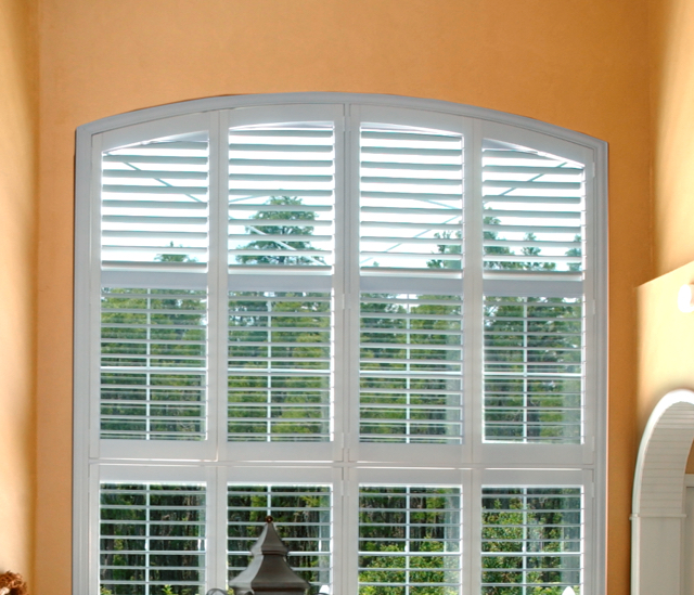 Arched Window Shutters In Boston, MA