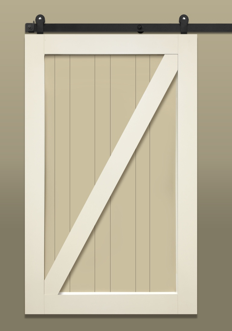 Stile & Rail With Z-Brace Barn Door