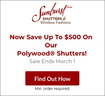 Sale on Boston Polywood Shutters