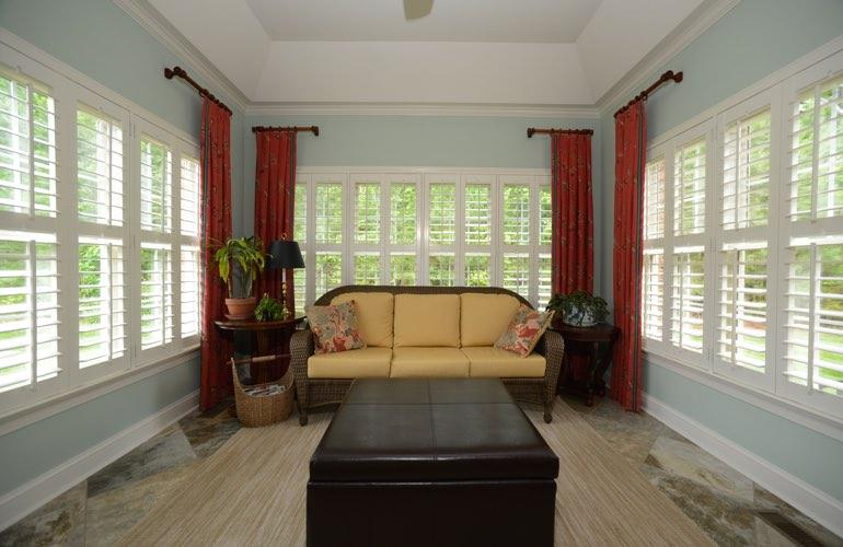 Window Treatments Ideas For Sunrooms In Boston Sunburst