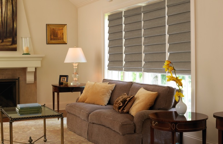 The Guide To Living Room Window Treatments In Boston, MA ...