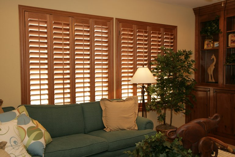 Ovation Shutters In A Boston Living Room.
